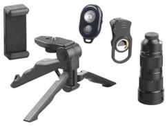 Téléobjectif 4x – 12x pour smartphone avec trépied CVL-250 - Avec déclencheur