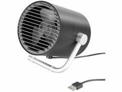 Ventilateur de table USB design turbine par Pearl.