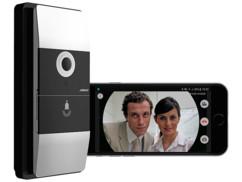 sonnette sans fil avec vidéo pour application iphone smartphone vtk-300 somikon