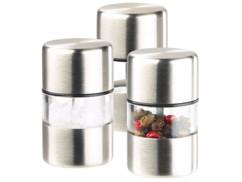 3 mini moulins à poivre Ø 3 cm