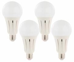 4 ampoules LED E27 High Power 23 W - 2452 lm - Blanc jour