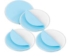 4 Kits de fixation magnétique pour détecteurs de fumée