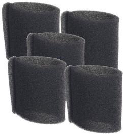 5 filtres pour aspirateur eau et poussière BLS-115 et BLS-130