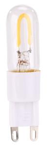 Ampoule G9 LED à filament blanc chaud 1 W / 100 lm