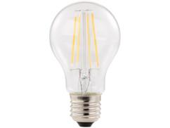 Ampoule LED à filament format goutte E27 6W 806 lm 360° -  blanc chaud