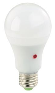 ampoule led smd e27 12w basse consommation avec détecteur d'obscurité et allumage automatique lumière blanc jour