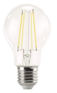 Ampoule Poire LED à filament A++, E27, 6 W, 806 lm, 360°, Blanc