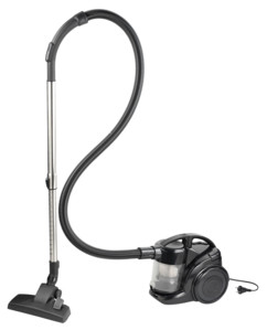 aspirateur cyclonique sans sac bls sichler avec filtre hepa et collecteur 2l
