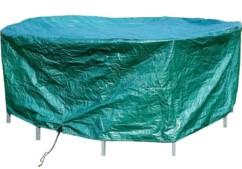 Bâche de protection pour meuble de jardin rond