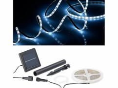 Bande à LED solaire 180 LED 3 m - Blanc lumière du jour