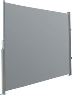 Brise-vue déroulable 180 x 300 cm - gris anthracite