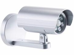 caméra de surveillance factice avec 6 LED
