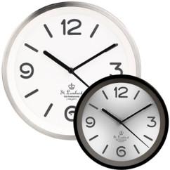 Horloge murale à quartz avec éclairage automatique - Avec Radio-pilotage