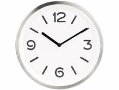 horloge murale analogique avec détecteur de luminosité et led intégrés saint leonhard
