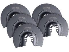 lot de 5 lames de scie semi circulaire multi-outils 87 mm CRV