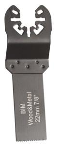 5 Lames de scie plongeante bimétal HSS 22 mm