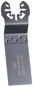 lame de scie plongeante HSS pour outil multifonction 28 mm