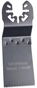 Lame de scie plongeante standard pour outils multifonctions, 34 mm, CRV