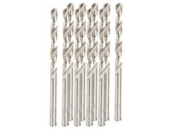 Pack de 10 forets HSS avec revêtement titane - 5 mm