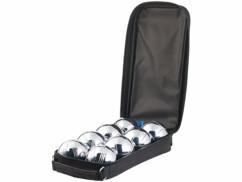 Pack de 8 boules de pétanque avec housse de transport