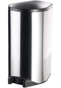 Poubelle automatique avec capteur de pied - 30 L