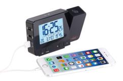 Réveil à projection radio-piloté avec chargement USB DAC-700.beam