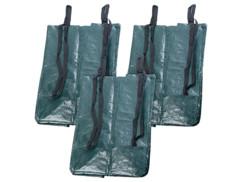 3 sacs de jardin rectangulaires 120 L