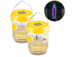 2pièges à insectes naturels à LED solaire