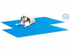 2 tapis rafraîchissants pour chiens et chats 120x 75cm