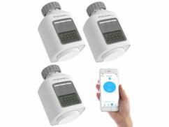 3 thermostats connectés pour chauffage avec fonction bluetooth