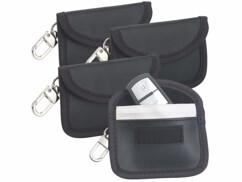 4étuis de protection RFID pour clés de voiture