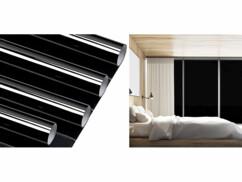 4 films de protection UV - 50 x 200 cm - Noir