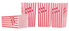 4 seaux réutilisables pour pop-corn 2 L