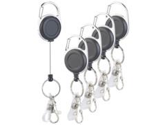 5 porte-clés de fixation yo-yo.