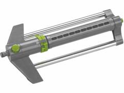 Arroseur oscillant Royal Gardineer avec une pression hydraulique de 4 bar.