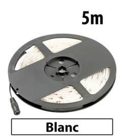 Bande à LED 5 mètres pour l'extérieur - blanc