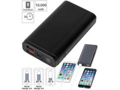 Batterie externe QC 3.0& USB-C 10000mAh/ jusqu'à 3A/ 18W : PB-510.pd