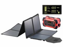 Batterie nomade 216 Ah avec panneau solaire pliable 100 W