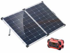 Batterie nomade 216 Ah avec panneau solaire pliable 160 W