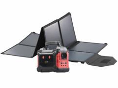 Batterie nomade et convertisseur solaire HSG-650 avec panneau solaire 100 W