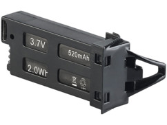 batterie neuve 520 mah 3,7v pour mini drone avec camera simulus gh 25