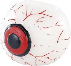 Bougie LED en cire véritable ''Oeil d'Halloween'
