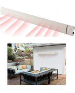 Chauffage radiant infrarouge 3200 W, IP65 avec télécommande : RA-332.w