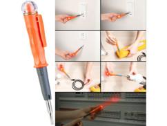 Détecteur de tension électrique multifonction de 100 à 500 V