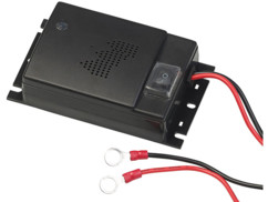 appareil repulsif ultrasons anti martres pour voitures avec alimentation 12v sur batterie lescars