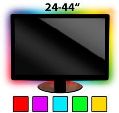 Kit de rétroéclairage LED pour TV - 44'' max - RVB