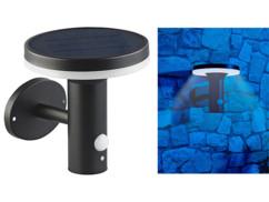 """Lampe murale solaire à LED 600lm """"WL-600.solar"""" avec détecteurs"""