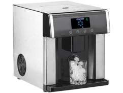 Machine à glaçons et distributeur d'eau avec écran et boîtier en acier inoxydable EWS-2350