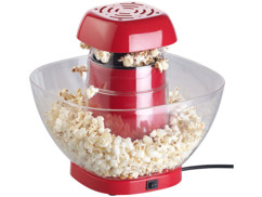 Machine à pop-corn à air chaud 1200 W avec récipient amovible