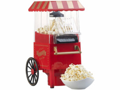 Machine à pop-corn à air chaud 1200 W - Design kiosque miniature